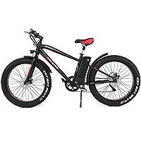 ANCHEER Elektrofahrrad Mountainbike, 26 Zoll 4.0 Fat Reifen Elektrisches Fahrrad Ebike mit 250W bürstenlosem Motor und 36V 10Ah Lithium-Batterie Shimano 6-Gang