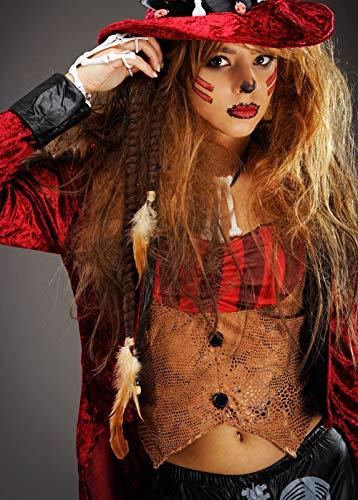 Magic Box Int. Voodoo Witch Doctor Dreadlocks Haarverlängerungen Pk2