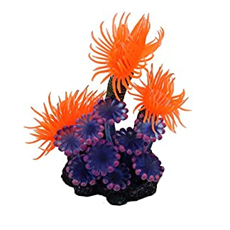 Artificial Vivid Resin Coral Sea Plant Fish Tank Aquarium Underwater Decoration 512GMB3VS1L