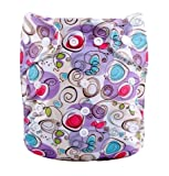#7: Baby Grow Carters All in One Reusable Diaper 0-24 months Purple