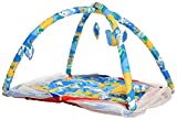 #6: Kids' Jumbo Bedding Set with Chain Net Protection (Blue) - 100 x 60 x 55 cm