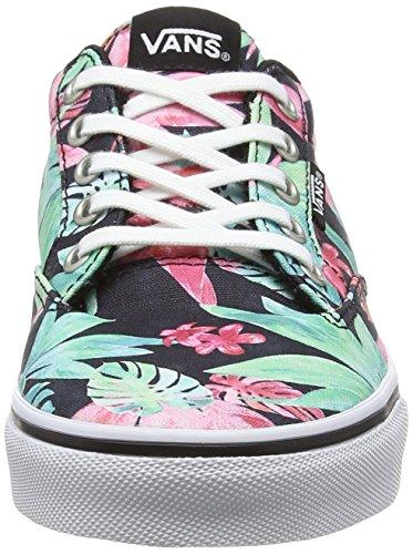 Vans Winston - Scarpe da Ginnastica Basse Donna Multicolore (tropical Floral/black/white)
