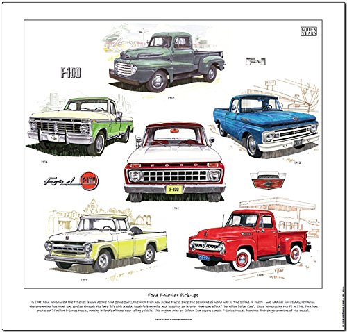 ford-f-series-pick-up-stampa-da-golden-era-f100-camion-american-classic
