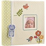 Arpan - Album fotografico rilegato, 200foto, 15x 10cm, con inserti portafoto, per neonato/a