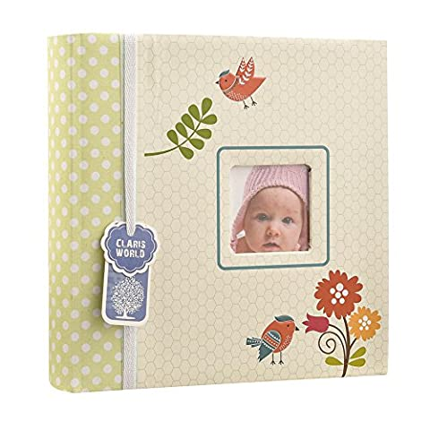 Baby Photo Album holds 200 4 x 6 Inch photos