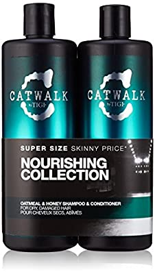 CATWALK by TIGI Oatmeal & Honey Tween Duo Shampoo and Conditioner for Dry, Damaged Hair 2x750 ml