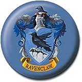 Pritties Accessories Bouton Insigne épingle de Blason emblème de la Maison de Serdaigle de Warner Bros Harry Potter Poudlard