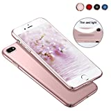 Meidom iPhone 7 Hülle iPhone 8 Hülle Matt Slim Case Ultra Dünn Hüllen,High-Quality Shock iPhone7 Hülle,All-Fingerprint Schutzhülle,Anti-Screatch für Handyhülle iPhone 7 iPhone 8 Rosegold