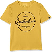 Quiksilver ssclteyousilver–Camiseta para niño, Niño, Camiseta, Ssclteyousilver, Golden Glow, FR : 14 ans (Taille Fabricant : L)