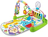 #4: Fisher Price Deluxe Kick and Play Piano Gym