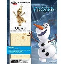 incredibuilds: Disney Frozen: Olaf Deluxe Book and Model Set
