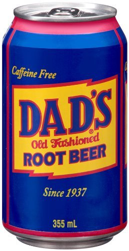 Dad's Root Beer 355ml cans USA Import (Pack of 24)