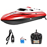 Syma Q1 2.4 Ghz Fernbedienung High Speed Schnellboot RC Boot Rennboot Kinderspielzeug Weihnacht Rot