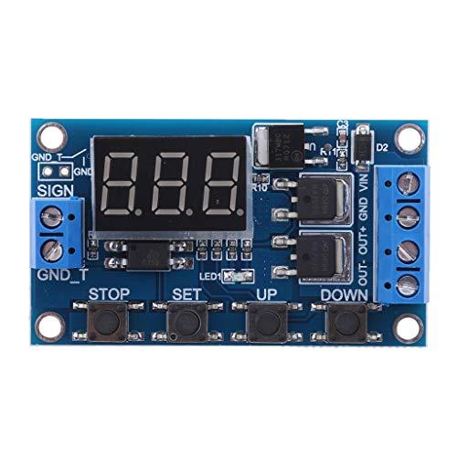 IPOTCH 5~36V Multifunktions Schaltkreis Zeitrelais Switch Control Relay Steuerrelais -