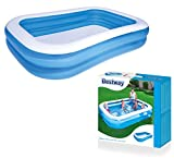 Bestway Family Pool Blue Rectangular, 262x175x51cm