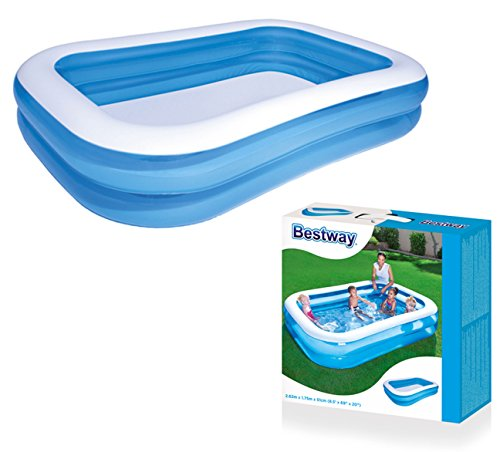 "Bestway Family Pool""Blue Rectangular"", 262x175x51cm"