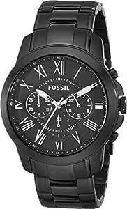 Fossil Herren-Armbanduhr XL Chronograph Quarz Edelstahl beschichtet FS4832
