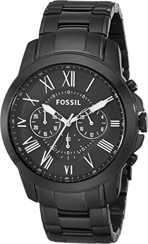 30% OFF on Fossil Grant Chronograph Analog Black Dial Men s Watch - FS4832  on Amazon  162ecef454