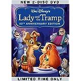 Lady & The Tramp (2pc) (Aniv Spec) [DVD] [1955] [Region 1] [US Import] [NTSC]