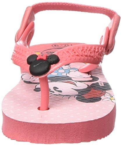 Havaianas Baby Disney Classics 4126841, Scarpe Primi Passi Unisex – Bimbi 0-24 Multicolore (Rose 2528)