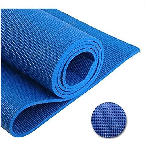 JLCP PVC-Material Yoga-Matte, 3.5Mm Feuchtigkeitsdichte Kalte Warme Yoga-Matte, Männer Und Frauen Indoor-Aktivitäten Outdoor-Sportmatte,Blue