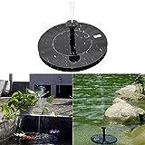 Leegoal Solar Brunnen Solar Springbrunnen Pumpe Floating mit freistehend für Garten, Teich, Pool, Aquarium, Das, Etc.