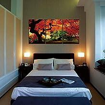 YESURPRISE Impresión En Lienzo Nuevo Para Pared Decoración Moderna Para Hogar Sala Cocina Dormitorio Hoja De Arce Otoño (sin marco o bastidor)