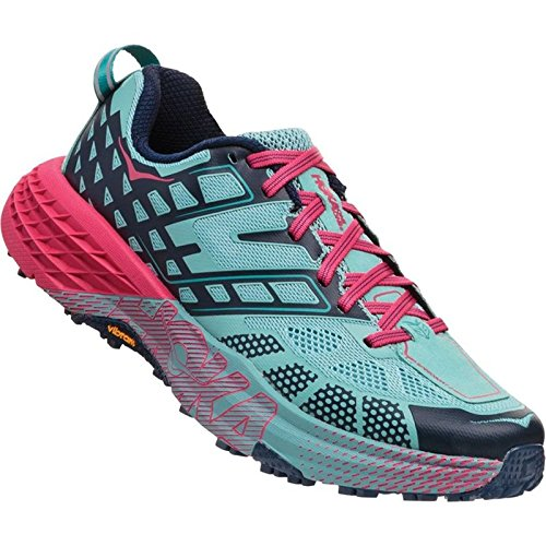 Hoka One One Speedgoat 2 Running Shoes Women Canton/Dress Blues Schuhgröße US 8 | EU 40 2018 Laufsport Schuhe