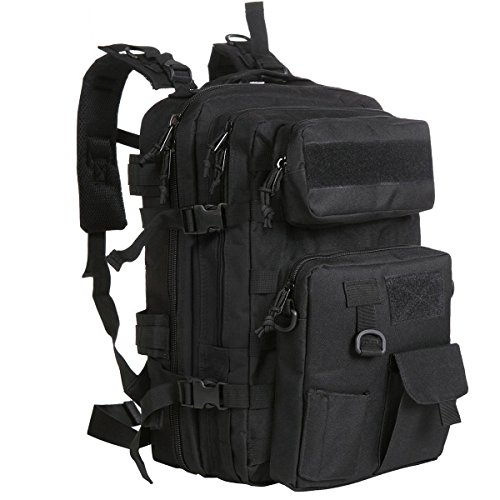 G4Free 40L Tactical MOLLE Rucksack mit Abnehmbarer Tasche