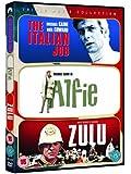 The Italian Job/Alfie/Zulu (Triple Pack) [DVD]