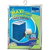 Cubierta lavadora con la parte superior de la máquina lavadora de carga, la máquina de carga de hojas protectores de lavado, cremallera universal, la tapa de lavado, que mide 46x60x88 cm, Art. 282