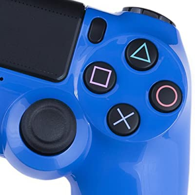 Playstation 4 Custom Controller - Electric Blue Edition
