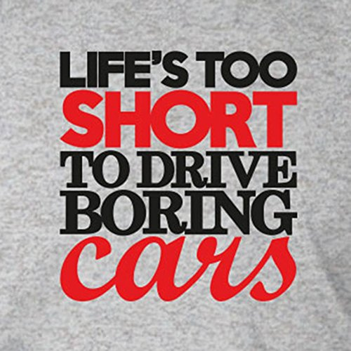 Life's too short to drive boring Cars - Herren T-Shirt Grün