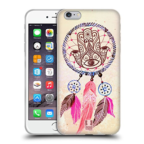 Head Case Designs Nautico Acchiappasogni Assortiti Cover Morbida In Gel Per Apple iPhone 7 Plus / 8 Plus Hamsa