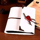 xiduobao Vintage recortes en forma de corazón colgante álbum de fotos, diseño de boda álbum de fotos hecho a mano DIY álbum de fotos especial Regalos. (L), blanco, large