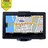Car GPS, 7-inch Portable Navigation System for Cars, Lifetime Map Updates, Real Voice