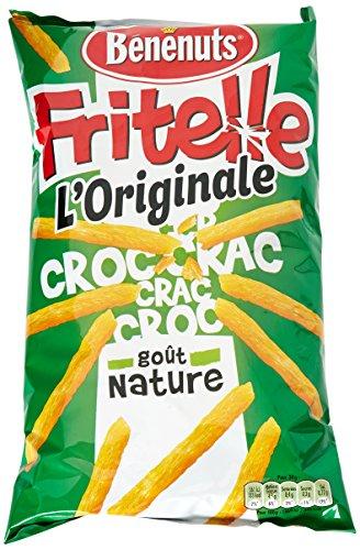 Benenuts Fritellelle Goût Nature 80 g - Lot de 5