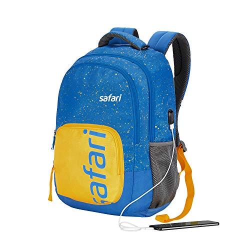 Best safari backpacks in India 2020 SAFARI 32 Ltrs Blue Casual Backpack (FRECKLEUSB19CBBLU) Image 8