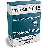 Rechnungsprogramm 2018 Professional Faktura Software Business Warenwirtschaft Wawi (Angebote, Rechnungen, Gutschriften, Mahnungen uvm.!) Lizenzdauer: 1 Jahr