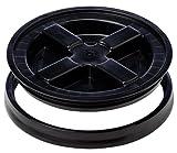 Gamma Seal Deckel, schwarz, bucket lid