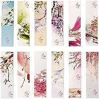 Lot de 30 Marque-pages de fleurs colorées pour femmes enfants filles