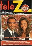 TELE Z [No 1510] du 15/08/2011 - NIKOS ALIAGAS ET SANDRINE QUETIER POUR 50 MN INSIDE - CINEMA - HARRISON FORD FACE AUX ENVAHISSEUR