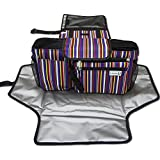 Diaper Baby Changing Pad & Stroller Organizer Bag Kit for sale  Delivered anywhere in Ireland