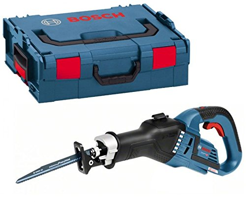 Bosch Professional 06016A8104 GSA 18 V-32 ge ohne Akku und ohne Ladeger t, 2X S bels\\x{00E4}geblatt, L-BOXX