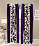 Elegance Polyester Door Curtain Set Of 2...