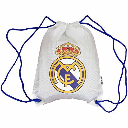Real Madrid Gymbag Gymsack Turnbeutel (weiß)