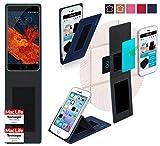 Meizu Pro 6S Hülle Cover Case in Blau - innovative 4 in 1