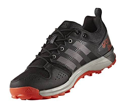 adidas Herren Galaxy Trail Traillaufschuhe Rot (Core Black/grey Two /energy )