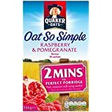 Oat So Simple Raspberry & Pomegranate 10 x 33.4g