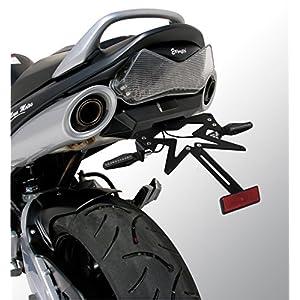 Kennzeichenbeleuchtung GSR 6002006/2011ERMAX glänzend schwarz